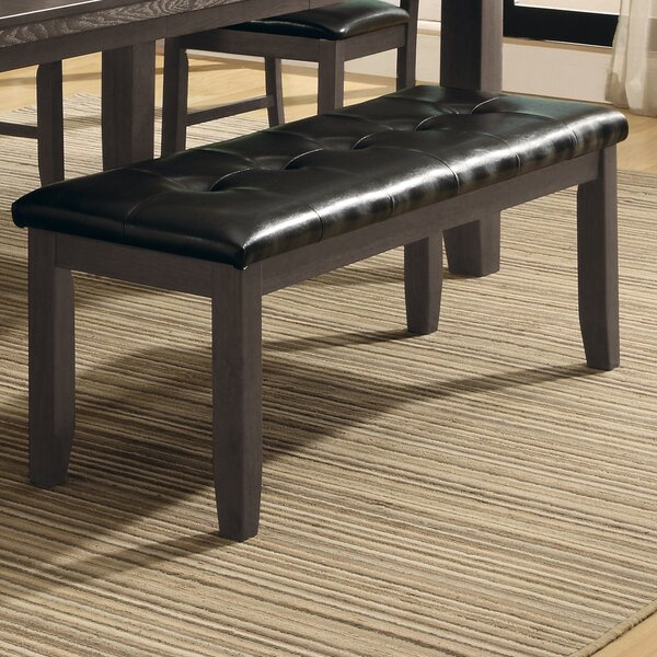 Lecroy Upholstered Bench by Millwood Pines