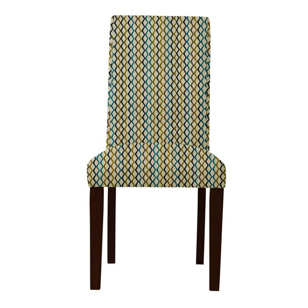 Beachwood Lattice Parsons Chair (Set of 2) by Latitude Run