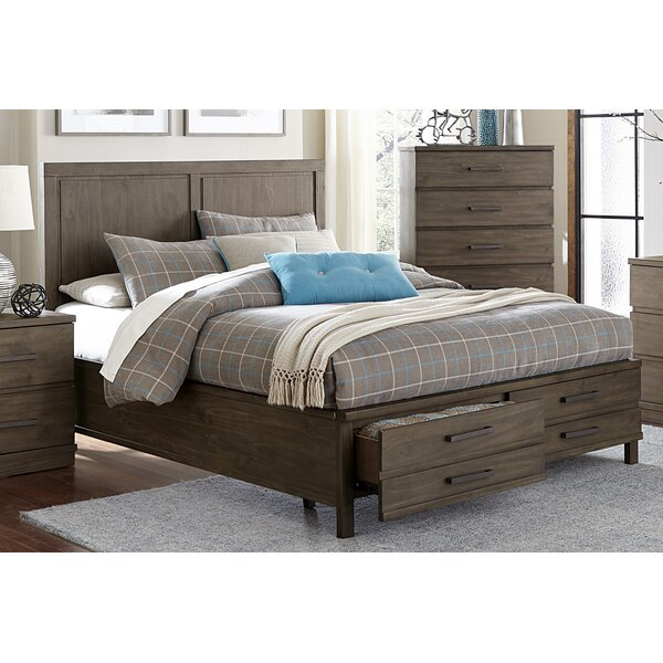 Best  Kirkby Queen Storage Platform Bed By Three Posts 2019 Coupon