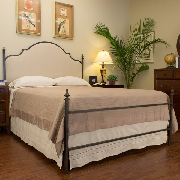 Waterburg Upholstered Panel Bed by Benicia Foundry and Iron Works