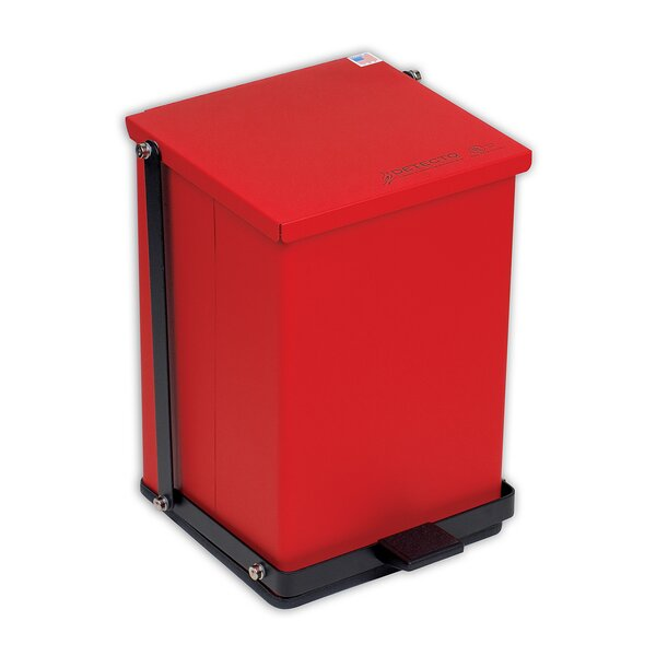Receptacle Baked Epoxy in Red by Detecto