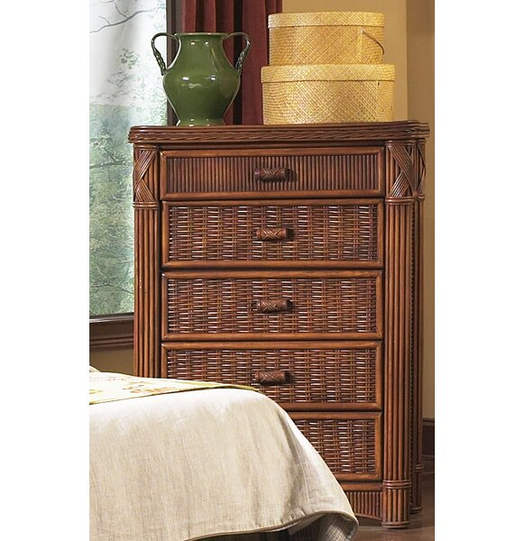 Woodlake 5 Drawer Chest by Bay Isle Home