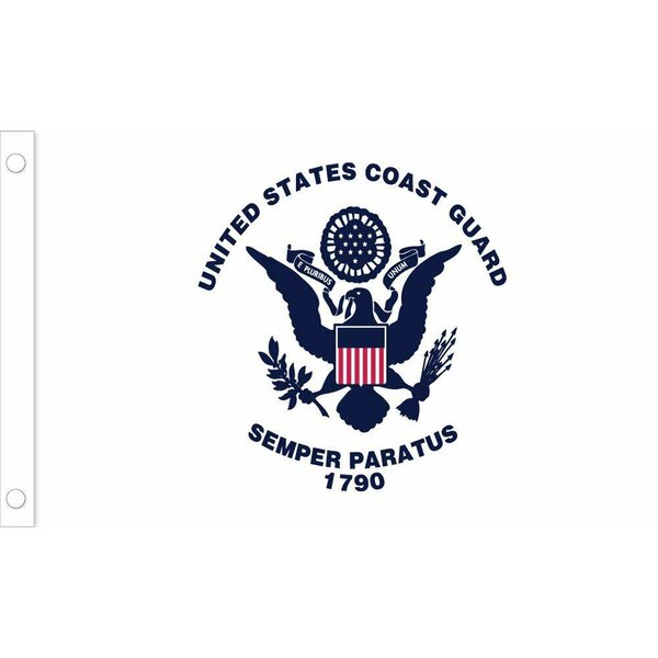 American Coast Guard Nylon Flag by U.S. Flag Store