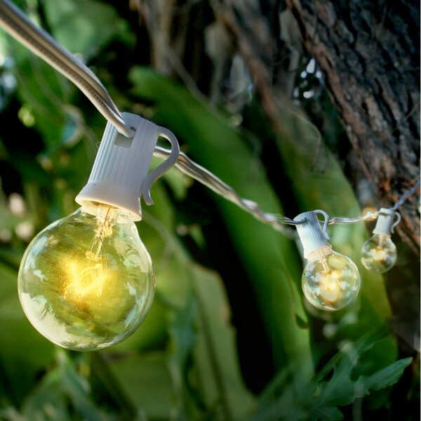 Christmas Holiday Frozen Paper Lantern String Light by The Paper Lantern Store