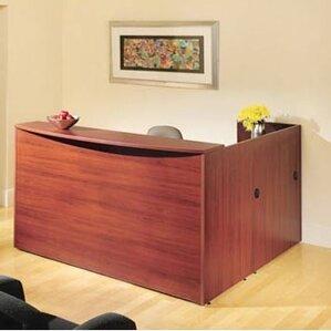 reception desks & suites you'll love | wayfair