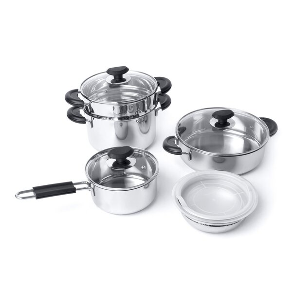 Kasta 9-Piece Cookware Set by BergHOFF International