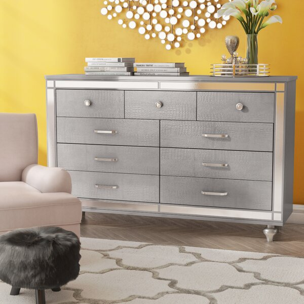 Meserve 9 Drawer Dresser by House of Hampton
