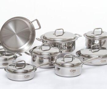 15 Piece Cookware Set by 360 Cookware