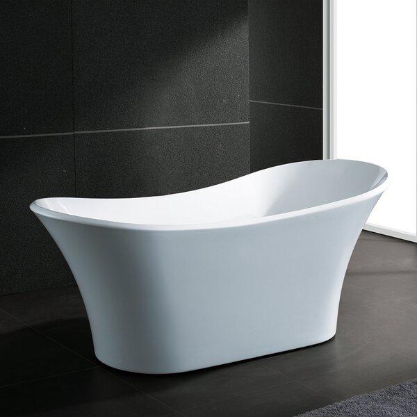 71 x 32 Freestanding Soaking Bathtub by AKDY