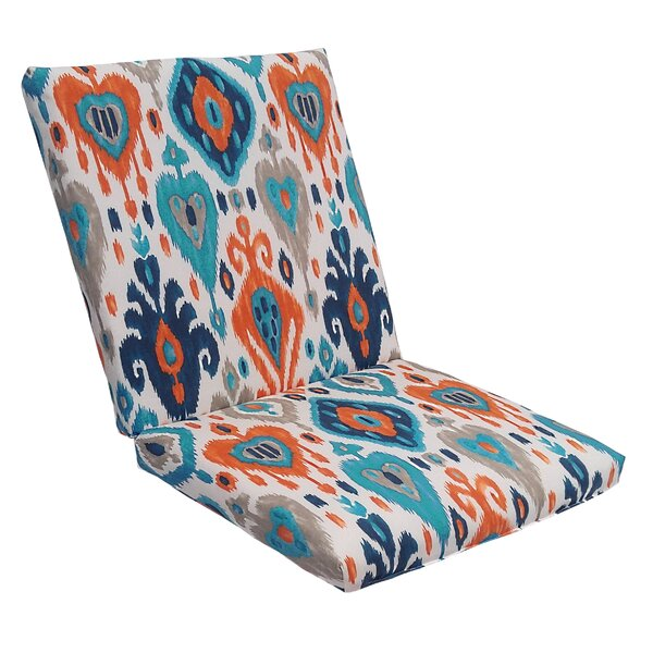 Croft Indoor/Outdoor Longue Chair Cushion by Wrought Studio
