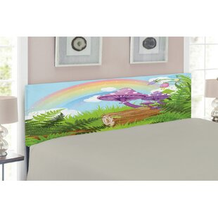 Mushroom Upholstered Panel Headboard by East Urban Home