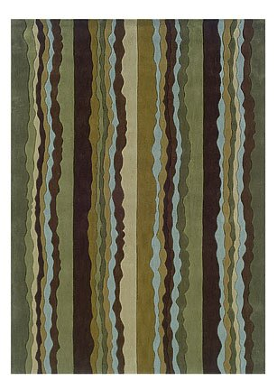 Allport Hand-Tufted Blue Area Rug by Winston Porter