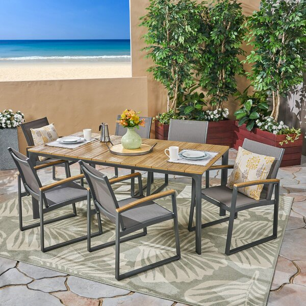 Avalos 7 Piece Dining Set by Williston Forge