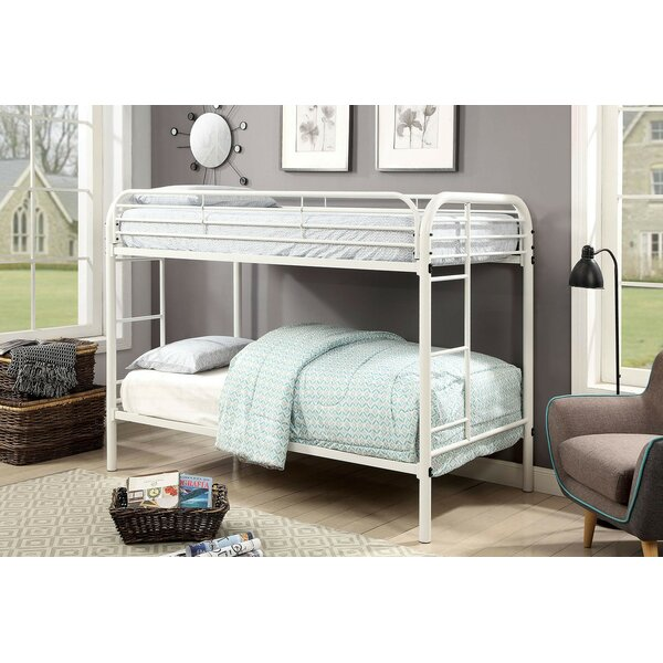 Alderete Twin over Twin Bunk Bed by Harriet Bee