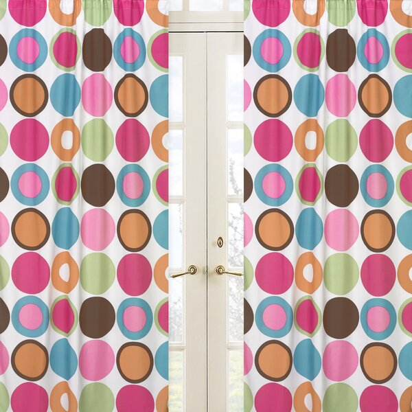 Deco Dot Curtain Panels (Set of 2) by Sweet Jojo Designs