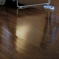 2-1/4 Solid Oak Hardwood Flooring in Low Glossy Walnut by Bruce Flooring