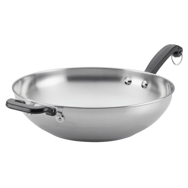 Classic Series 12 Stainless Steel Frying Pan by Farberware