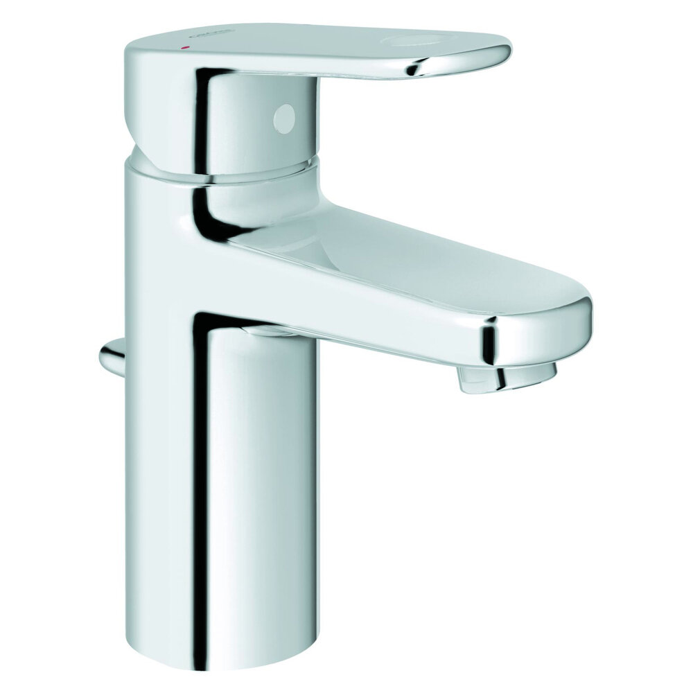 Grohe Europlus Centerset Single Hole Bathroom Faucet With Drain Embly Reviews Wayfair