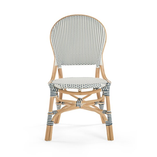 Tawanna Rattan Side Chair (Set of 2) by Bayou Breeze