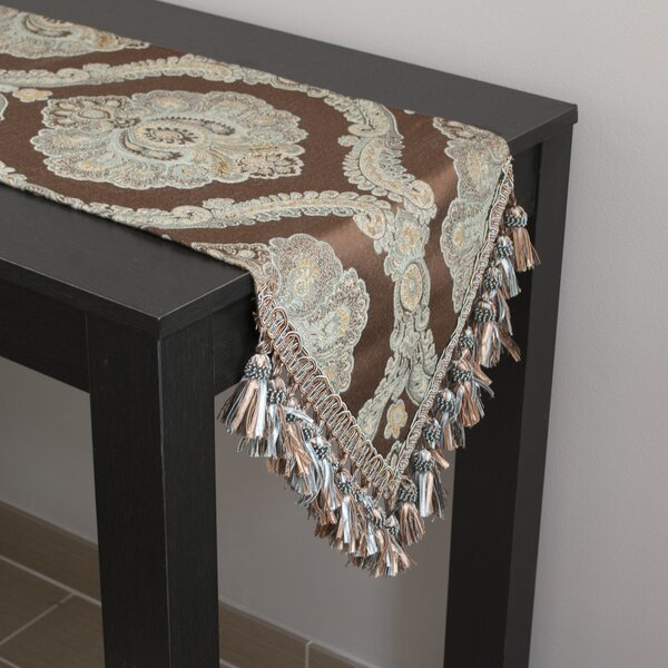 Blanche Table Runner by Sherry Kline