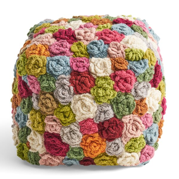 Rockhampton Pouf by Bungalow Rose