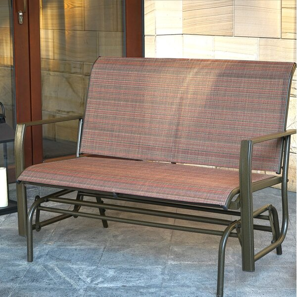 Otterbein Rocking Glider Bench by Winston Porter