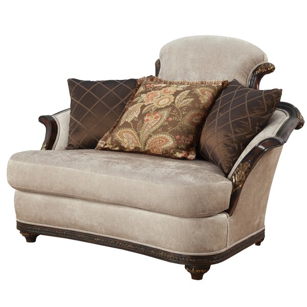 Oakdene Curved Loveseat By Astoria Grand
