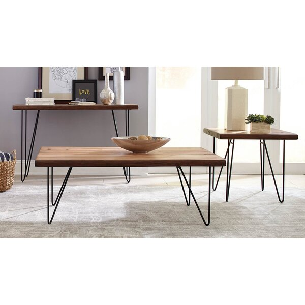 Carver 3 Piece Coffee Table Set by Brayden Studio