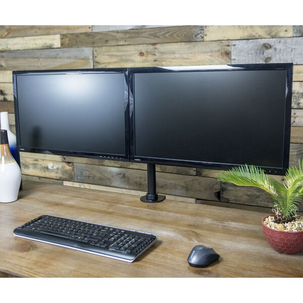 Dual Monitor 27 Array Desk Mount by Vivo