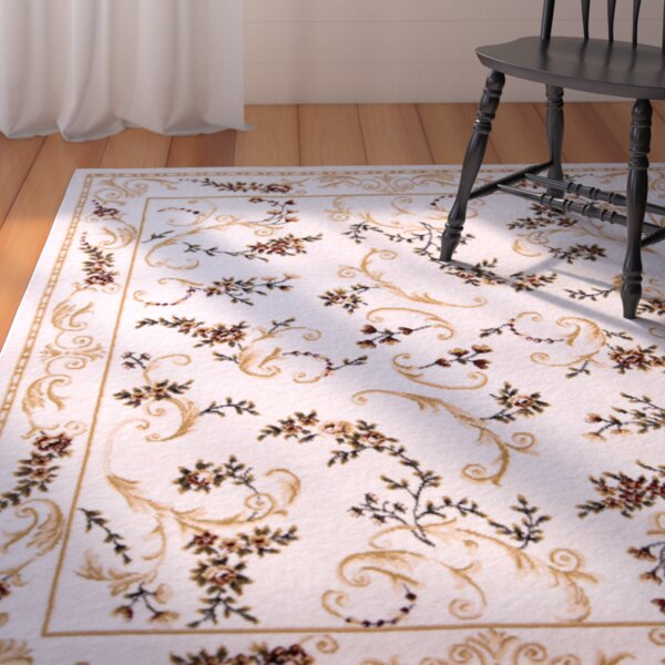 Bertie Ivory Area Rug by August Grove