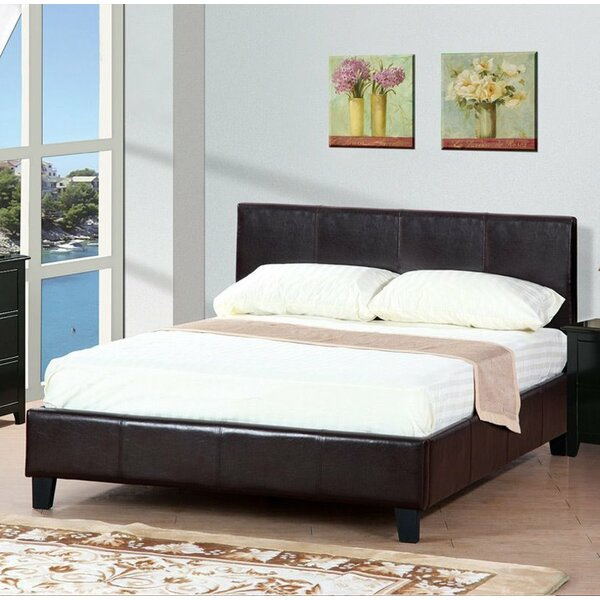Francise Queen Upholstered Platform Bed by A&J Homes Studio