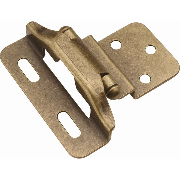 Invisible/Concealed Single Door Hinge (Set of 2) by Hickory Hardware