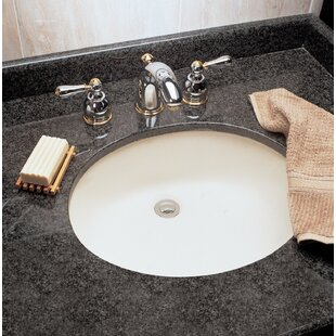Best Reviews Ovalyn Ceramic Oval Undermount Bathroom Sink with Overflow By American Standard