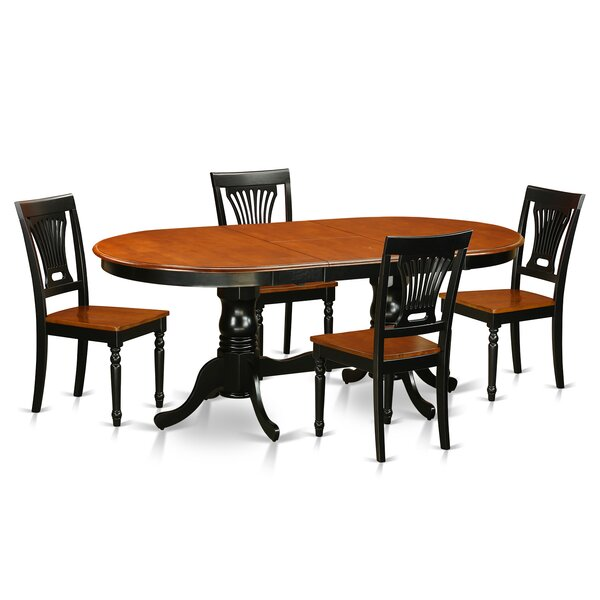 Germantown 5 Piece Dining Set by Darby Home Co