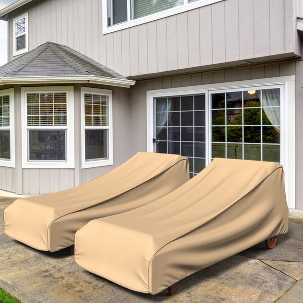 Chelsea Outdoor Chaise Lounge Cover by Budge Industries