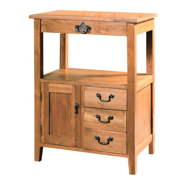 Louis 4 Drawer Accent Cabinet