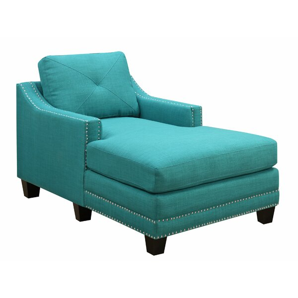 Galveston Pier Chaise Lounge by Beachcrest Home