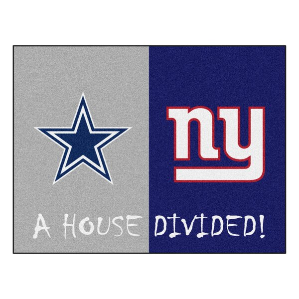 NFL House Divided - Cowboys / Giants House Divided Mat by FANMATS