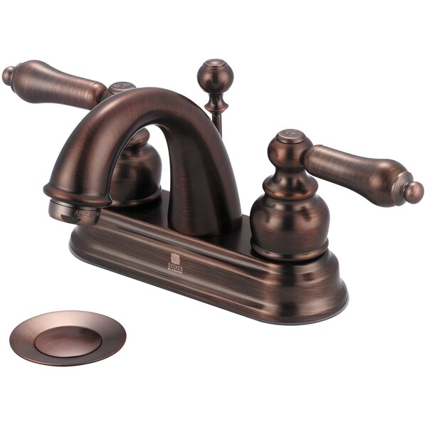 Brentwood Centerset Bathroom Faucet with Drain Assembly by Pioneer