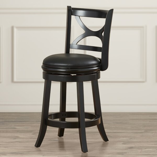 Ford 24 Swivel Bar Stool by Darby Home Co