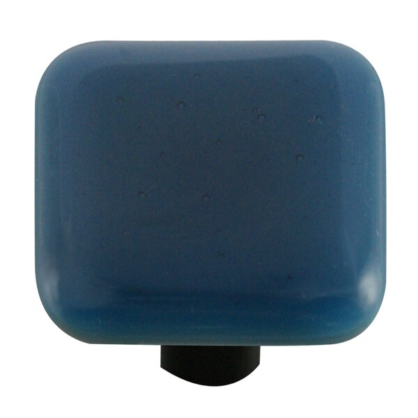 Solids Square Knob by Aquila Art Glass