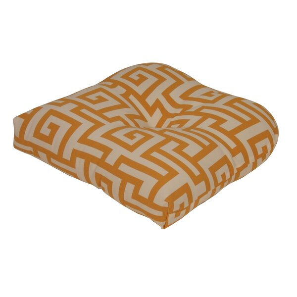 Terrasol Indoor/Outdoor Dining Chair Cushion by Tempo