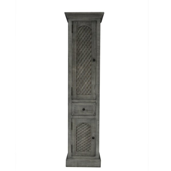 Romilly 19.62 W x 78.5 H Linen Tower by Beachcrest Home