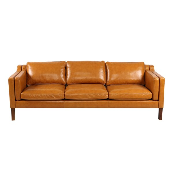 Rolando Leather Sofa by Corrigan Studio