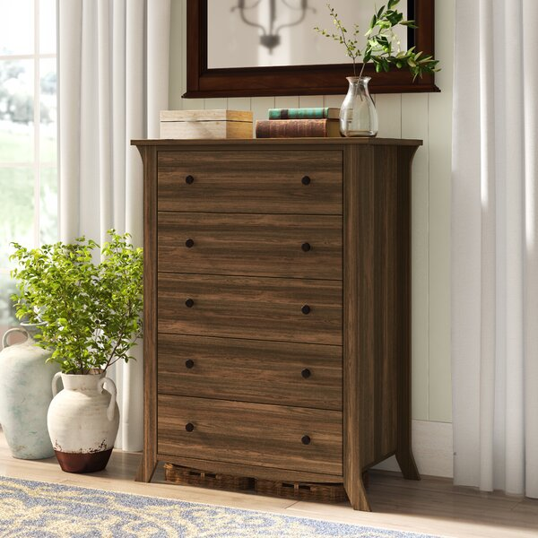 Plumville 5 Drawer Chest by Darby Home Co