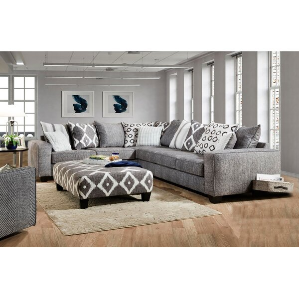 Mcmullin Sectional with Ottoman by Latitude Run