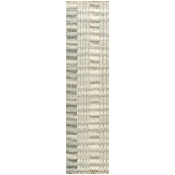 Apple Creek Hand-Knotted Gray Area Rug by Latitude Run