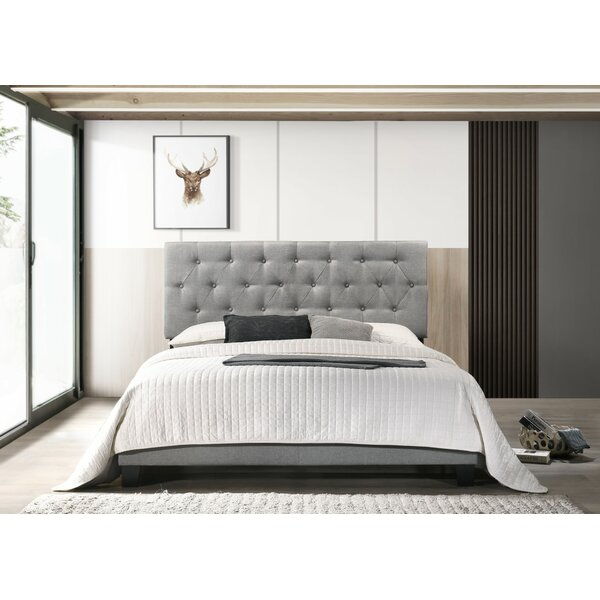 Drusilla Upholstered Standard Bed by Andover Mills