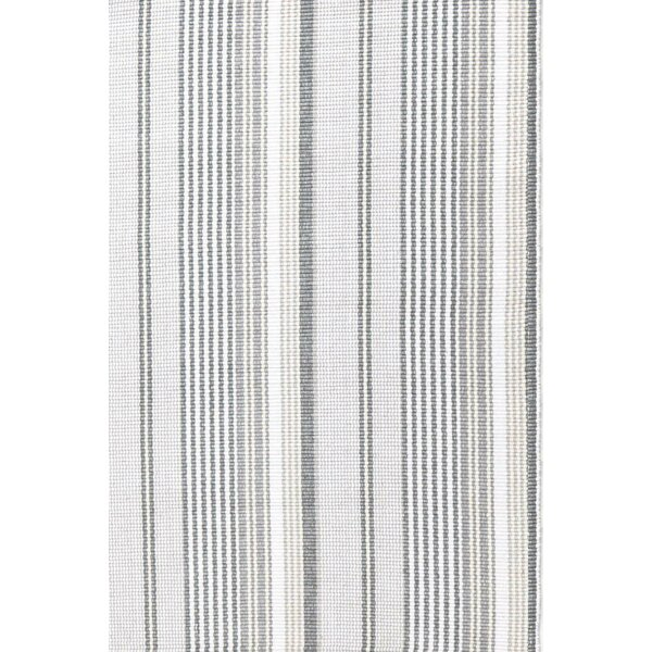Hand Woven Grey Area Rug by Dash and Albert Rugs