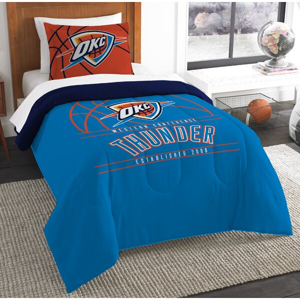 NBA Reverse Slam 2 Piece Twin Comforter Set by Nor